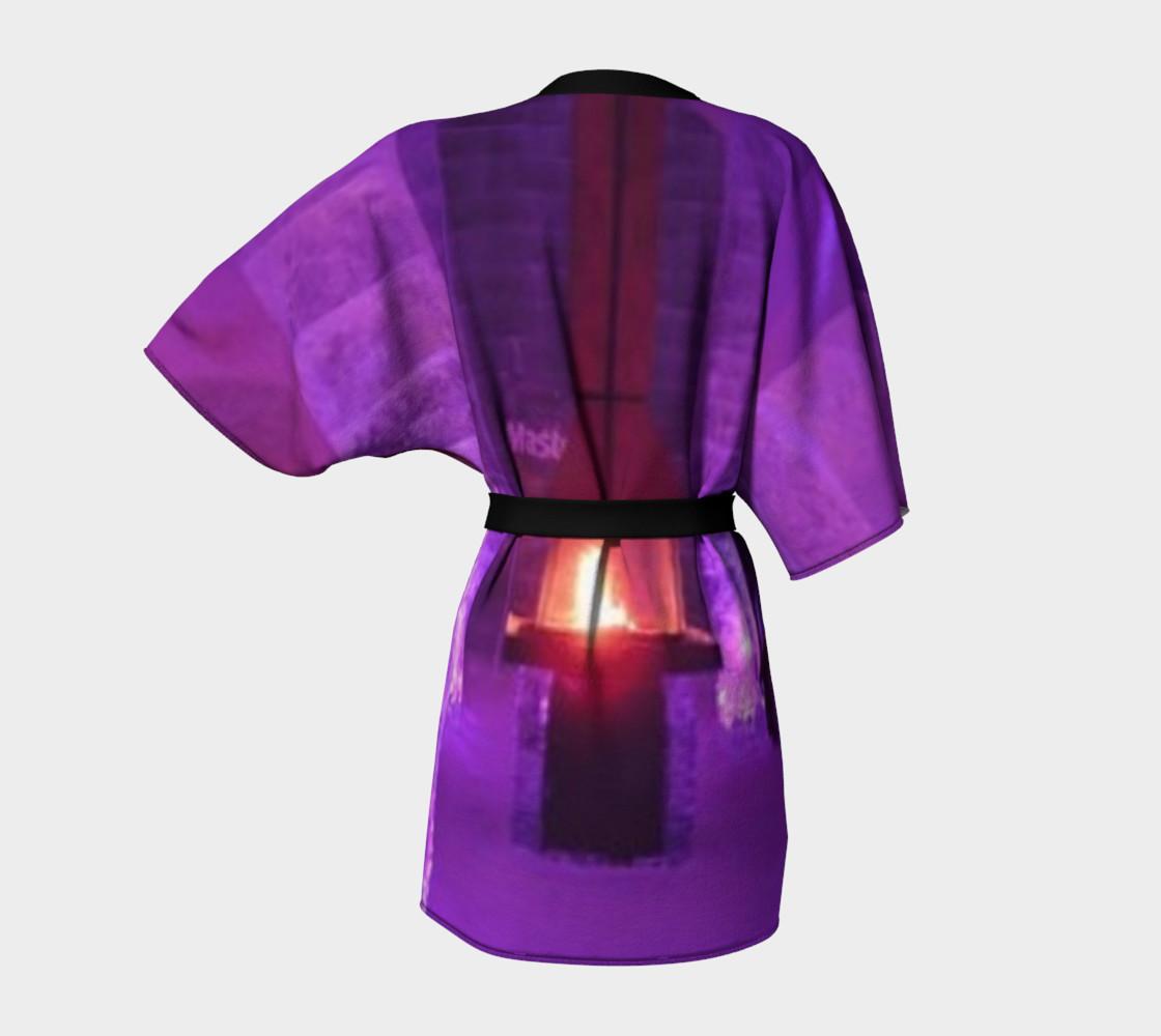 The Royal Blue, Kimono Robe, for anyone. preview #4