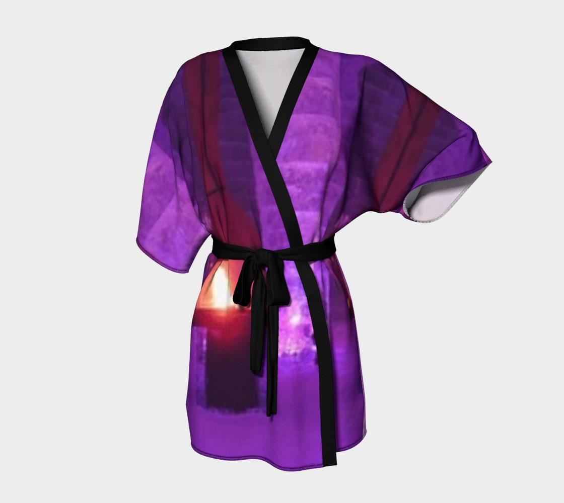 The Royal Blue, Kimono Robe, for anyone. preview #1