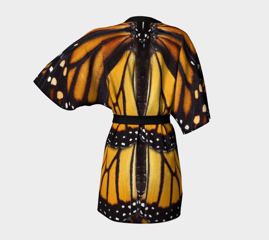 Aperçu de Mondo Monarch Butterfly Kimono Robe #4