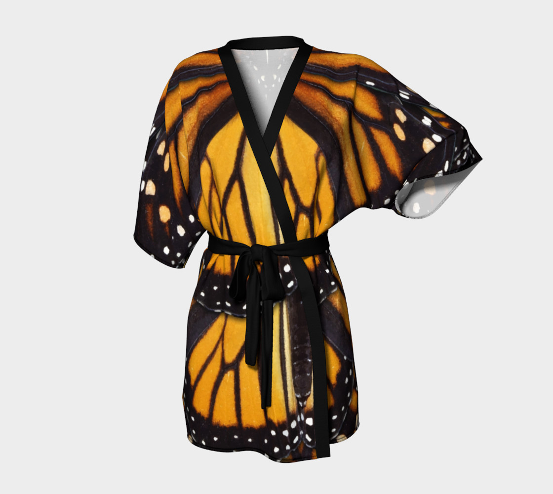 Aperçu de Mondo Monarch Butterfly Kimono Robe #1