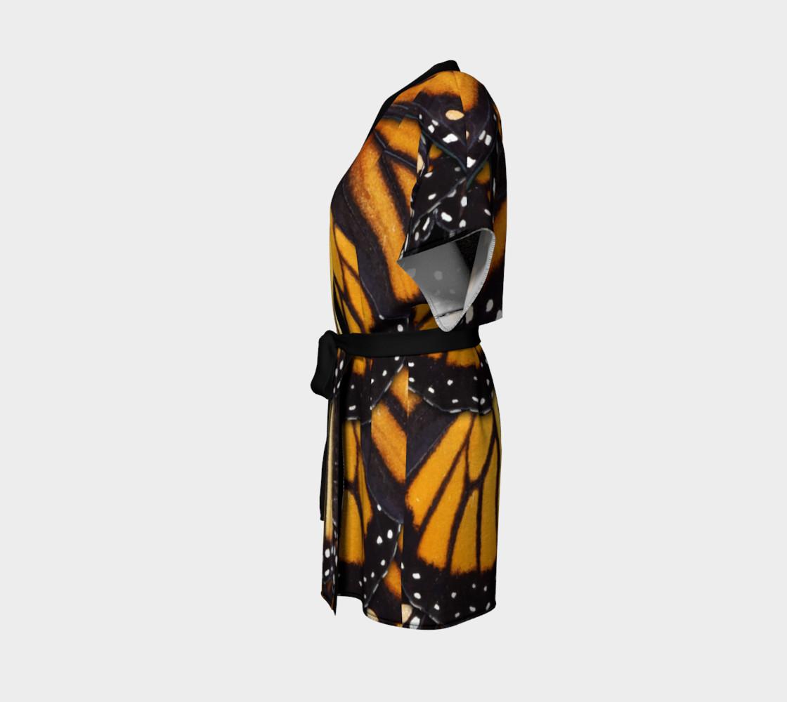 Aperçu de Mondo Monarch Butterfly Kimono Robe #2