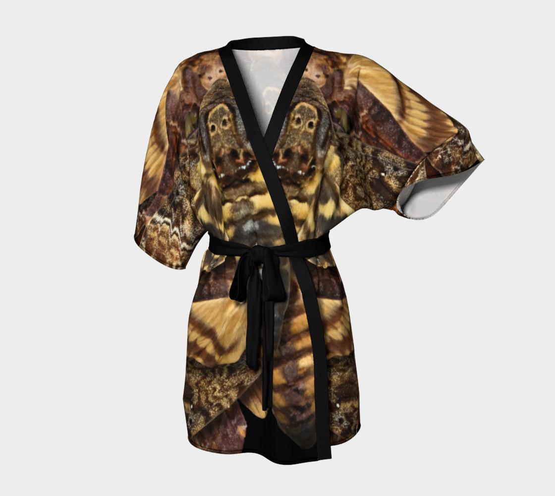 Aperçu de Mondo Death's Head Moth Kimono Robe #1