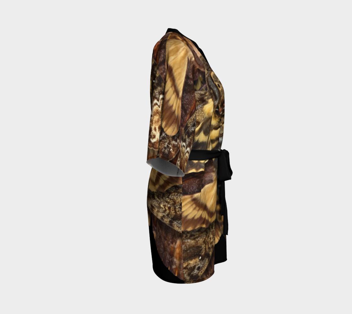 Aperçu de Mondo Death's Head Moth Kimono Robe #3