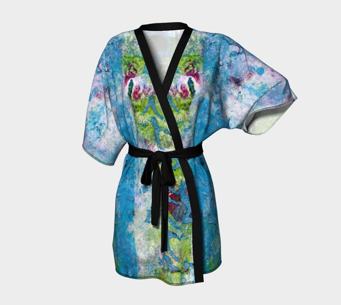Multicolored Kimono Robe preview #1