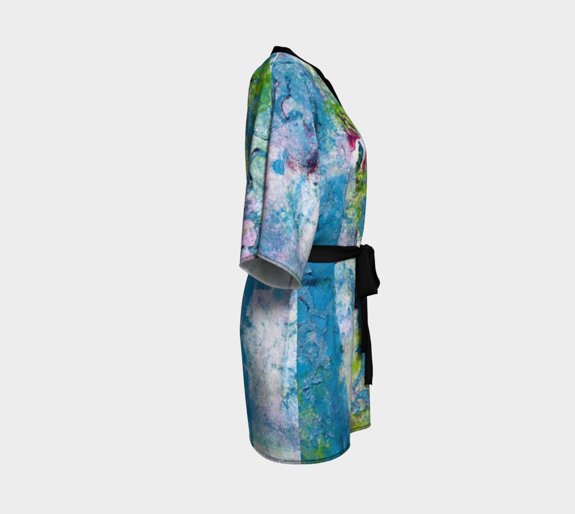 Multicolored Kimono Robe preview #3