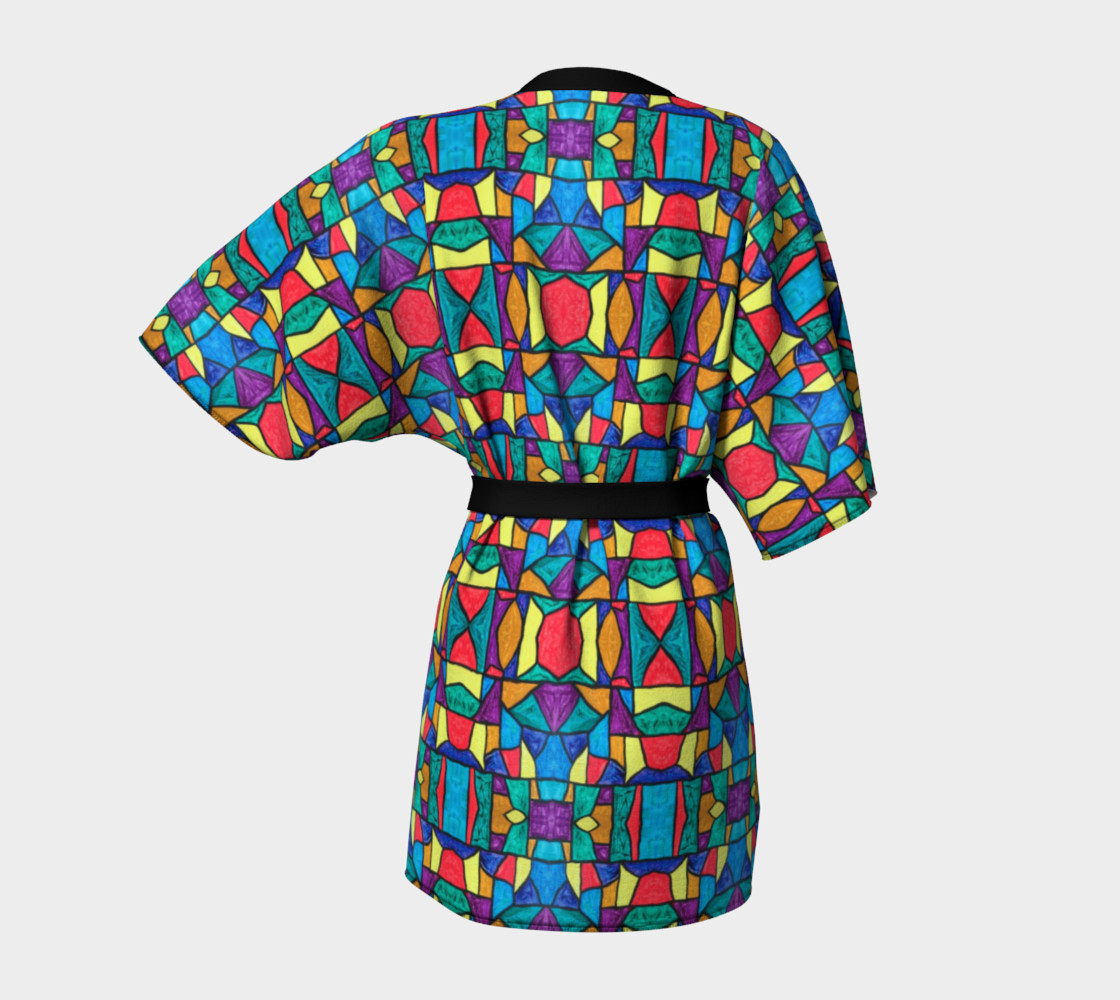 Mirage Stained Glass Kimono Robe preview #4