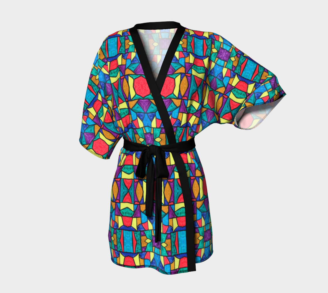 Mirage Stained Glass Kimono Robe preview #1