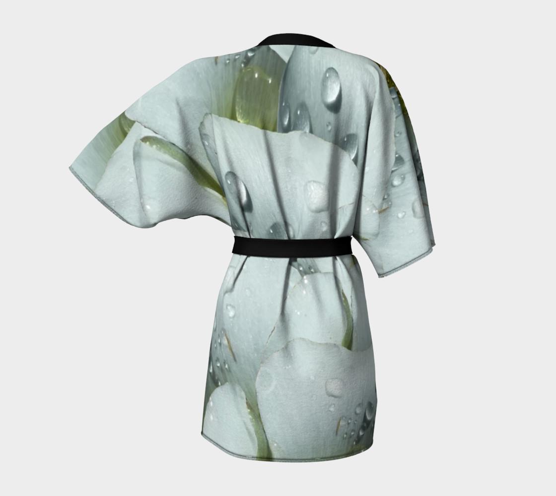 Aperçu de Mariposa Morning Dewdrop Kimono Robe #4