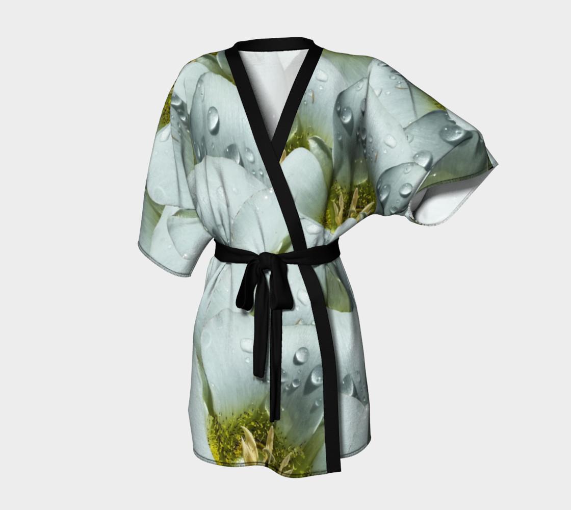 Aperçu de Mariposa Morning Dewdrop Kimono Robe #1