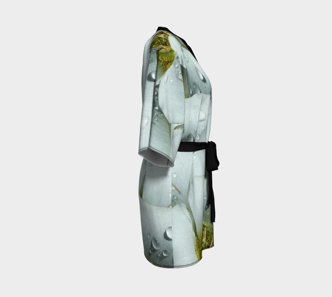 Aperçu de Mariposa Morning Dewdrop Kimono Robe #3