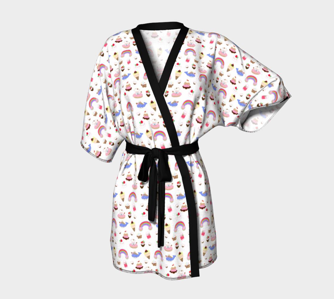 Kawaii Dessert Kimono Kimono Robe By Candy Stardust Shop Shop Art Of Where