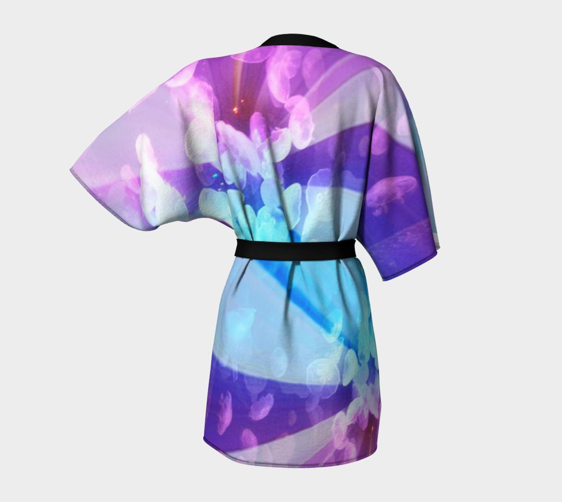 Aperçu de Blue Daisy Kimono #4
