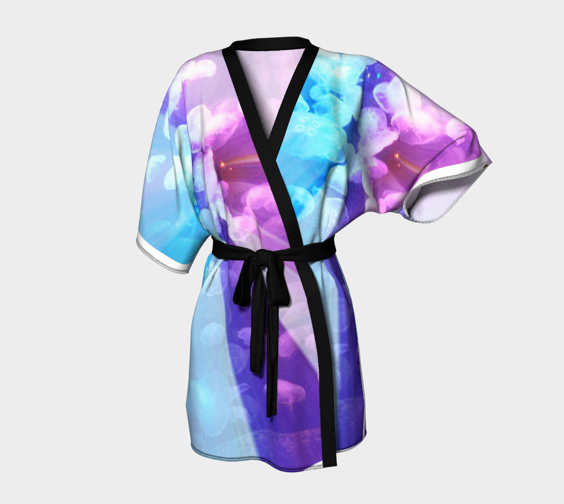 Aperçu de Blue Daisy Kimono #1