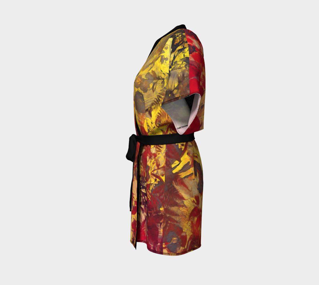 kimono robe flowers preview #2