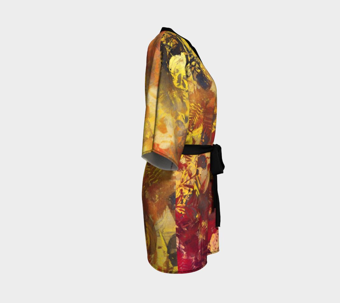 kimono robe flowers preview #3
