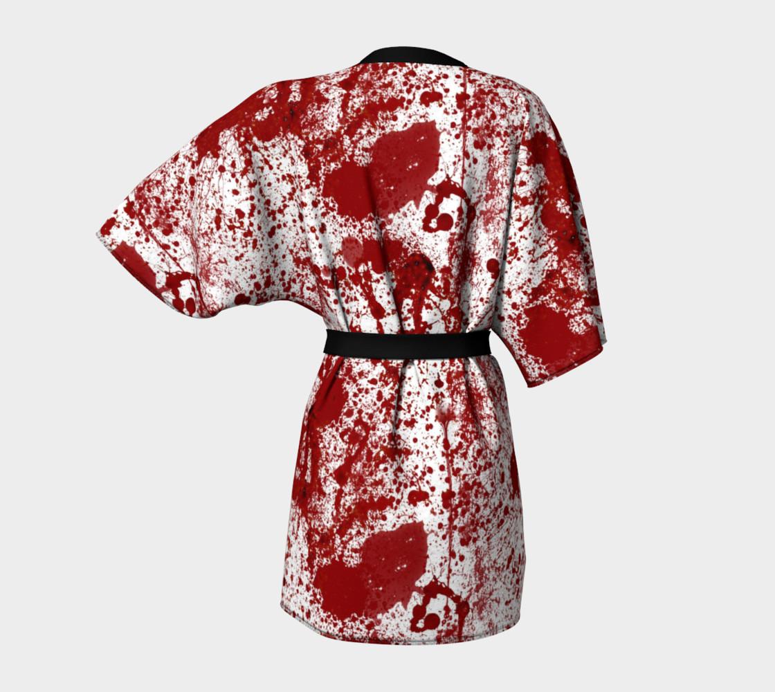 Bloody Crime Scene Kimono preview #4