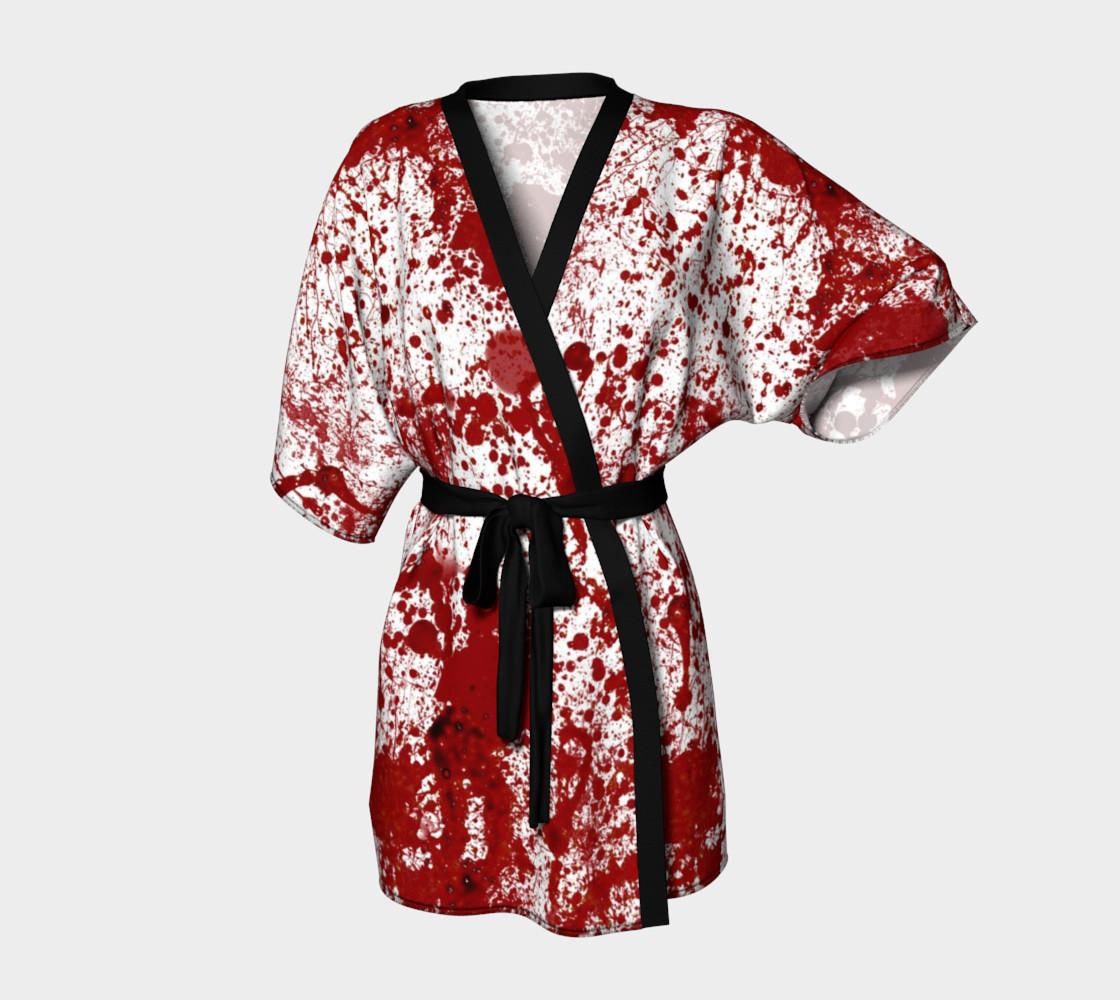 Bloody Crime Scene Kimono preview #1