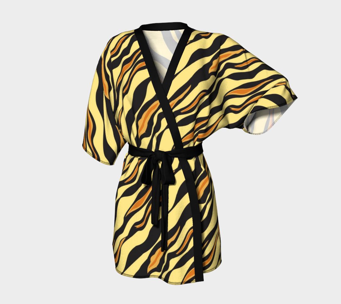 Aperçu de Animal Print Tiger Stripes #1