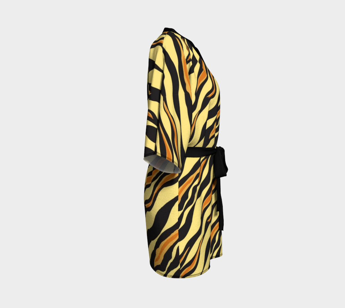 Aperçu de Animal Print Tiger Stripes #3