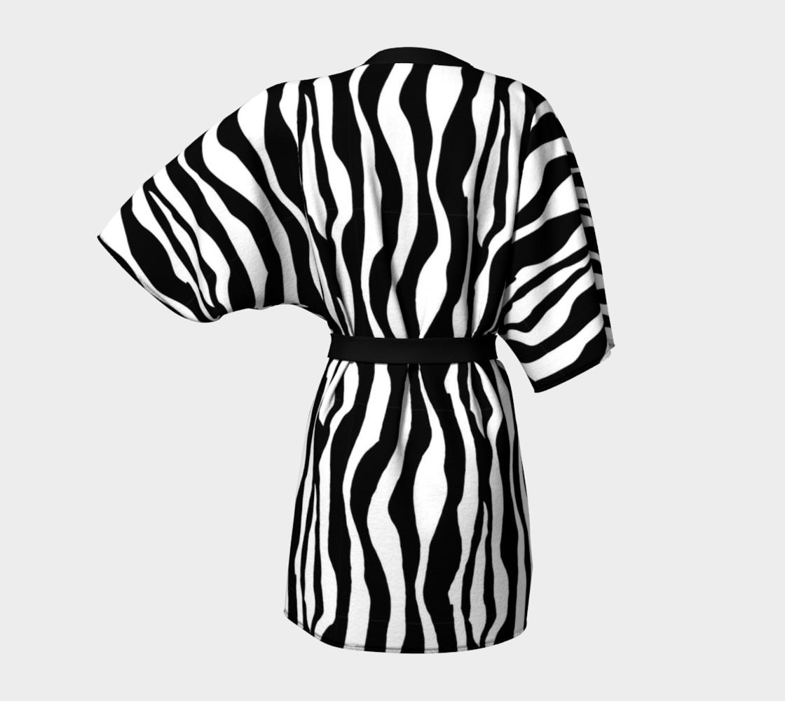 Aperçu de Wild Animal Print - Zebra #4