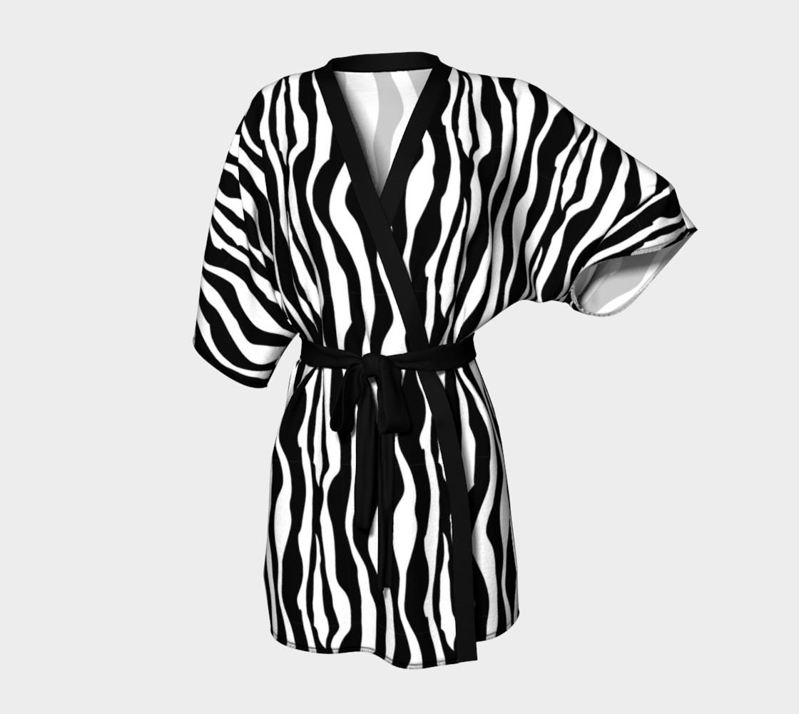 Aperçu de Wild Animal Print - Zebra #1