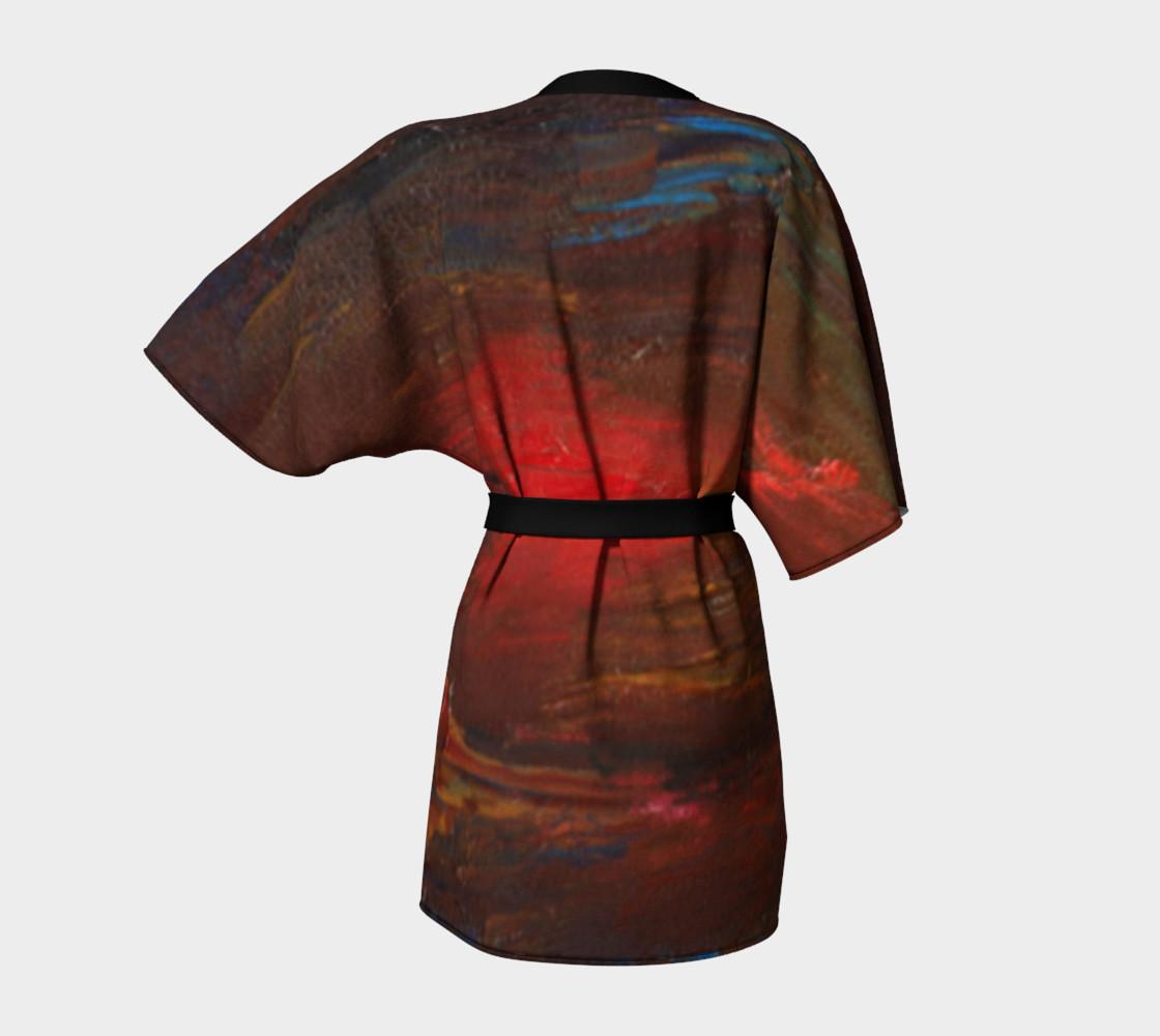 Crimson Ocean Kimono preview #4