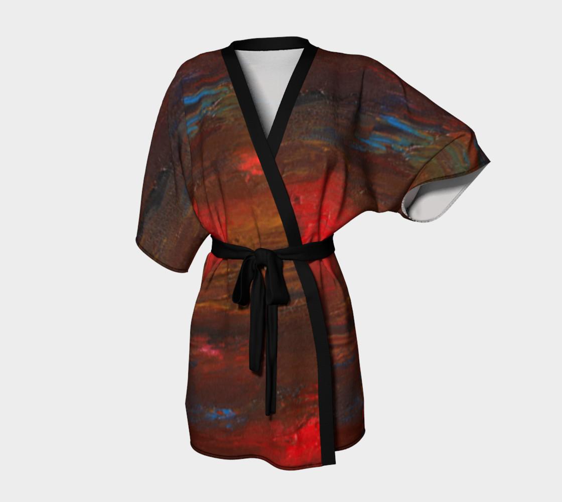 Crimson Ocean Kimono preview #1