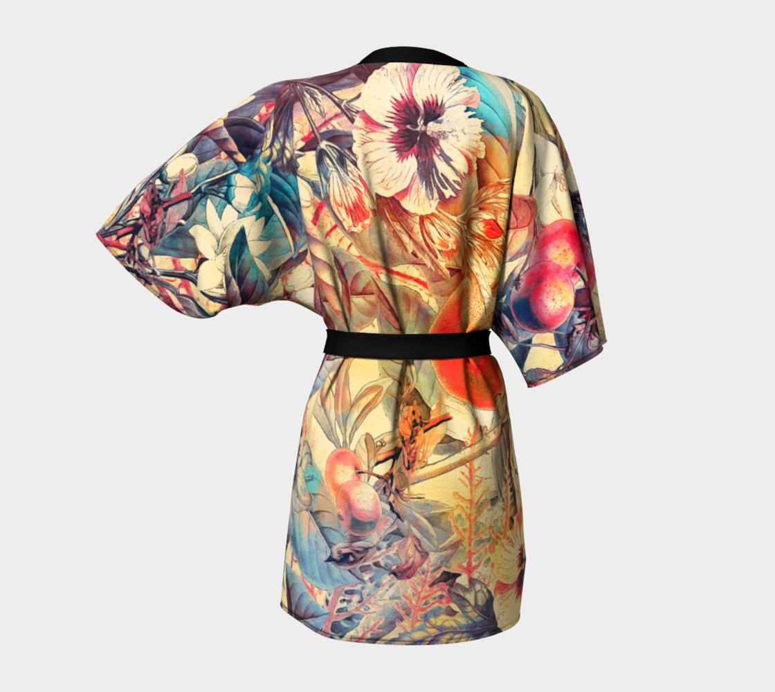kimono robe flowers pastel preview #4