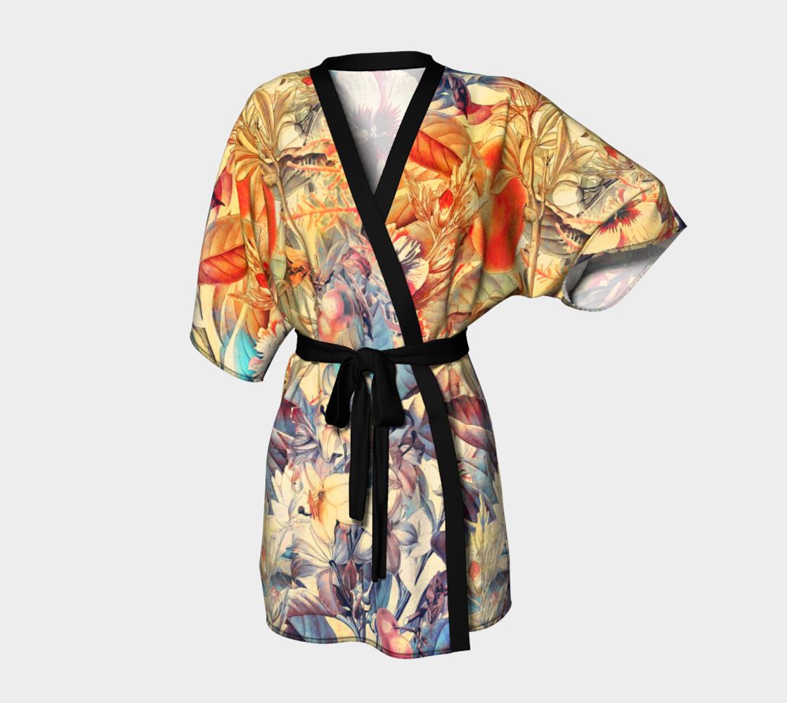 kimono robe flowers pastel preview #1
