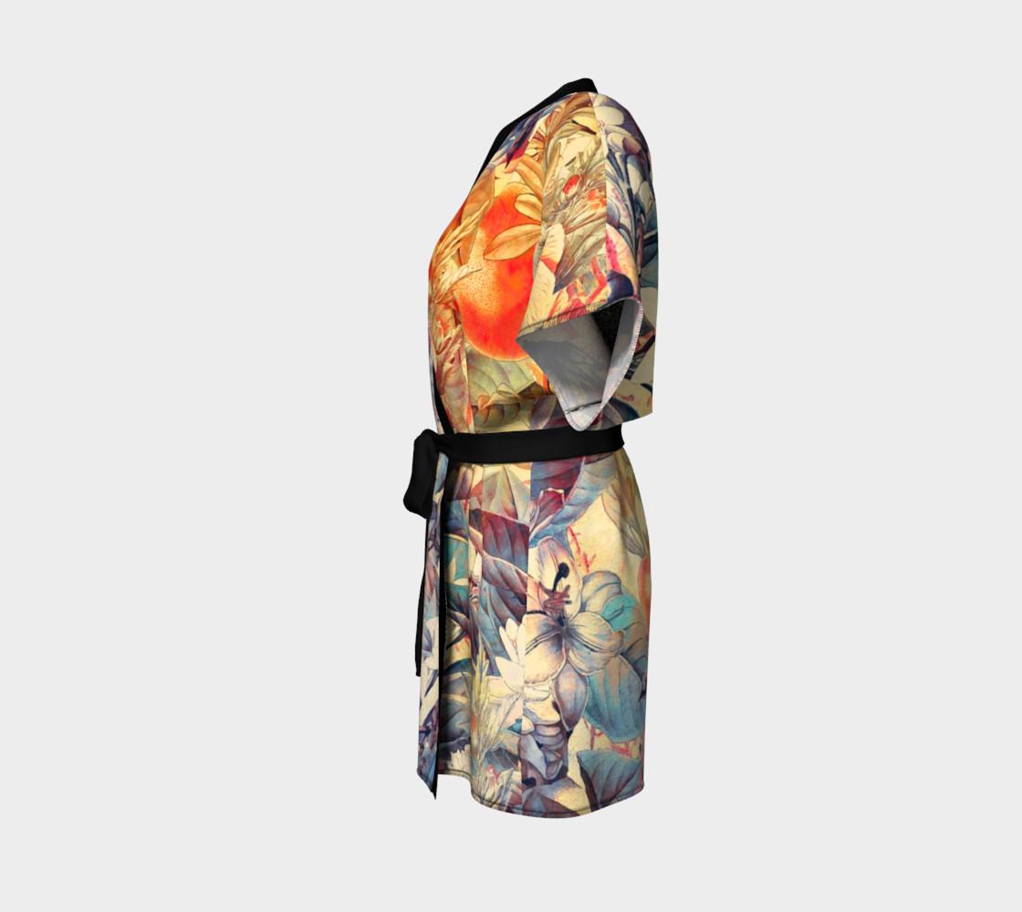 kimono robe flowers pastel preview #2