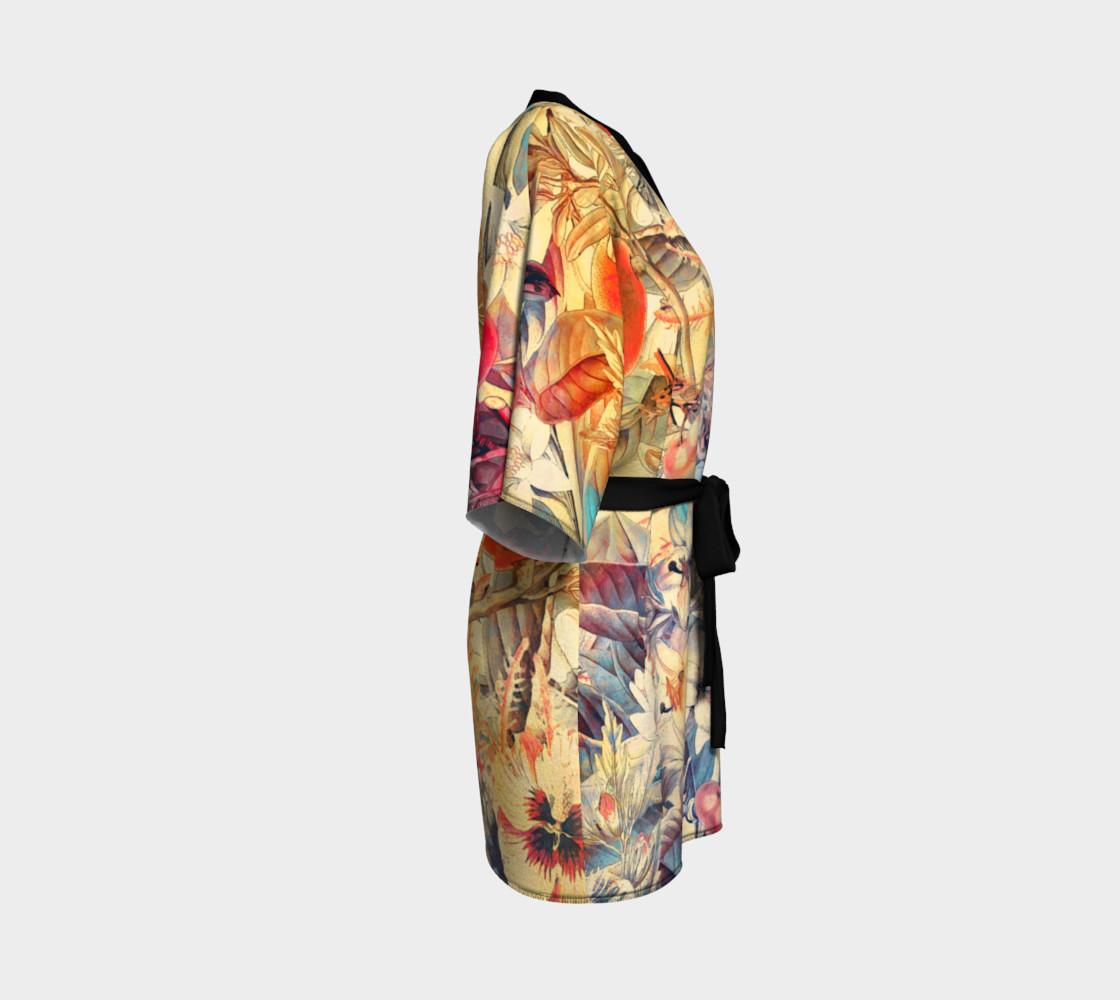 kimono robe flowers pastel preview #3