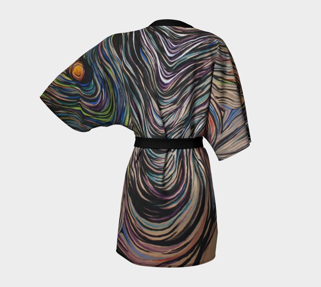 Aperçu de Night Sky Dressing Robe #4