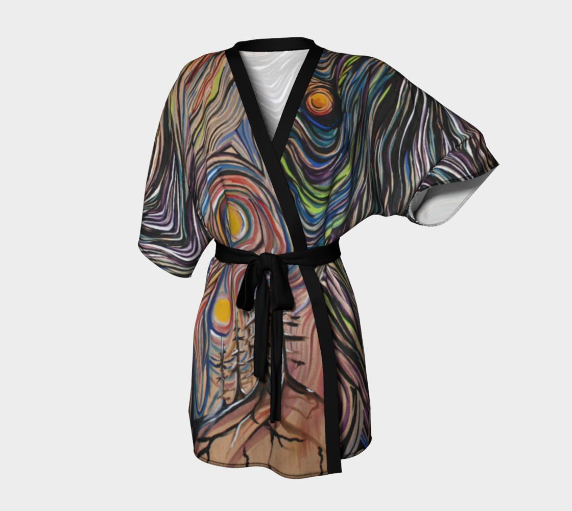 Aperçu de Night Sky Dressing Robe #1