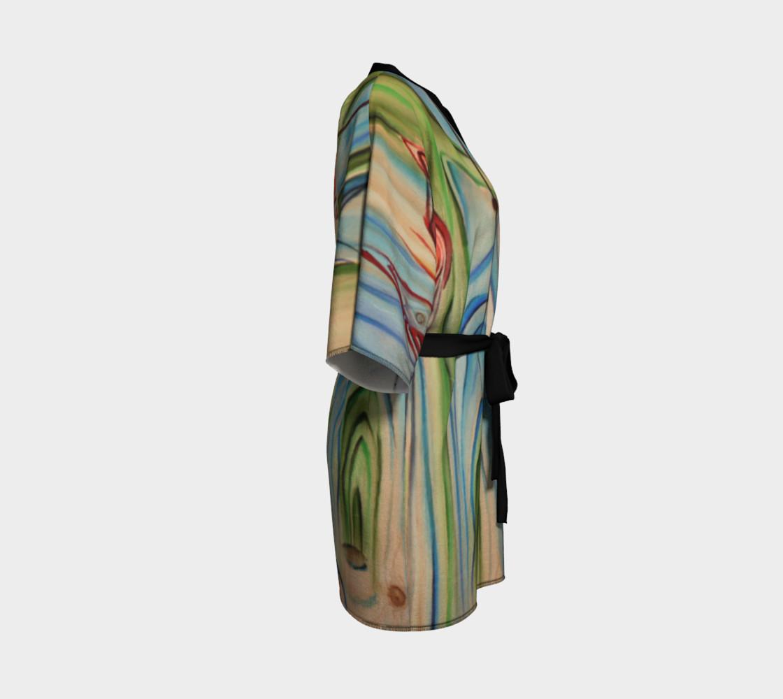 Wood Grain Dressing Robe  preview #3