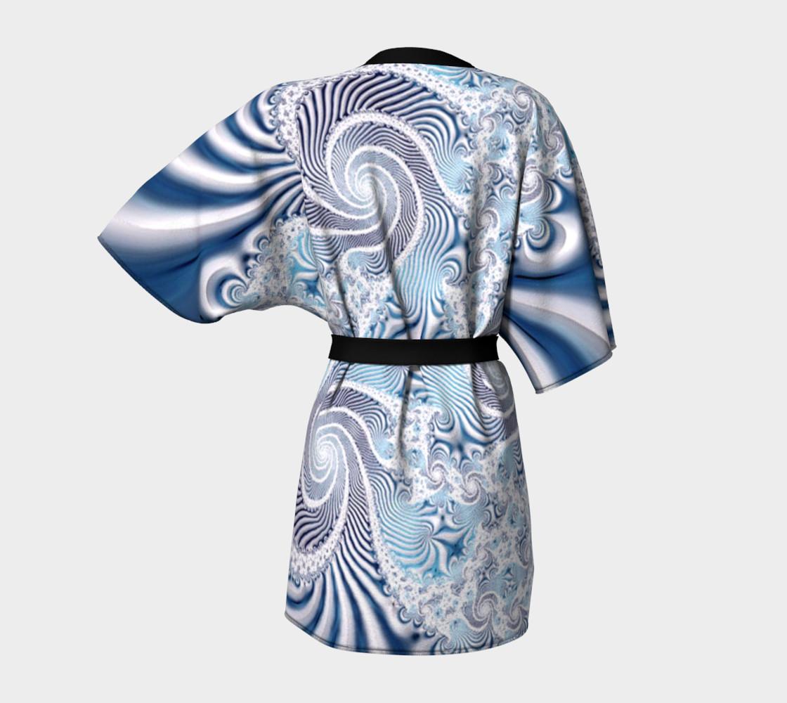Lace Dreams Kimono Robe preview #4