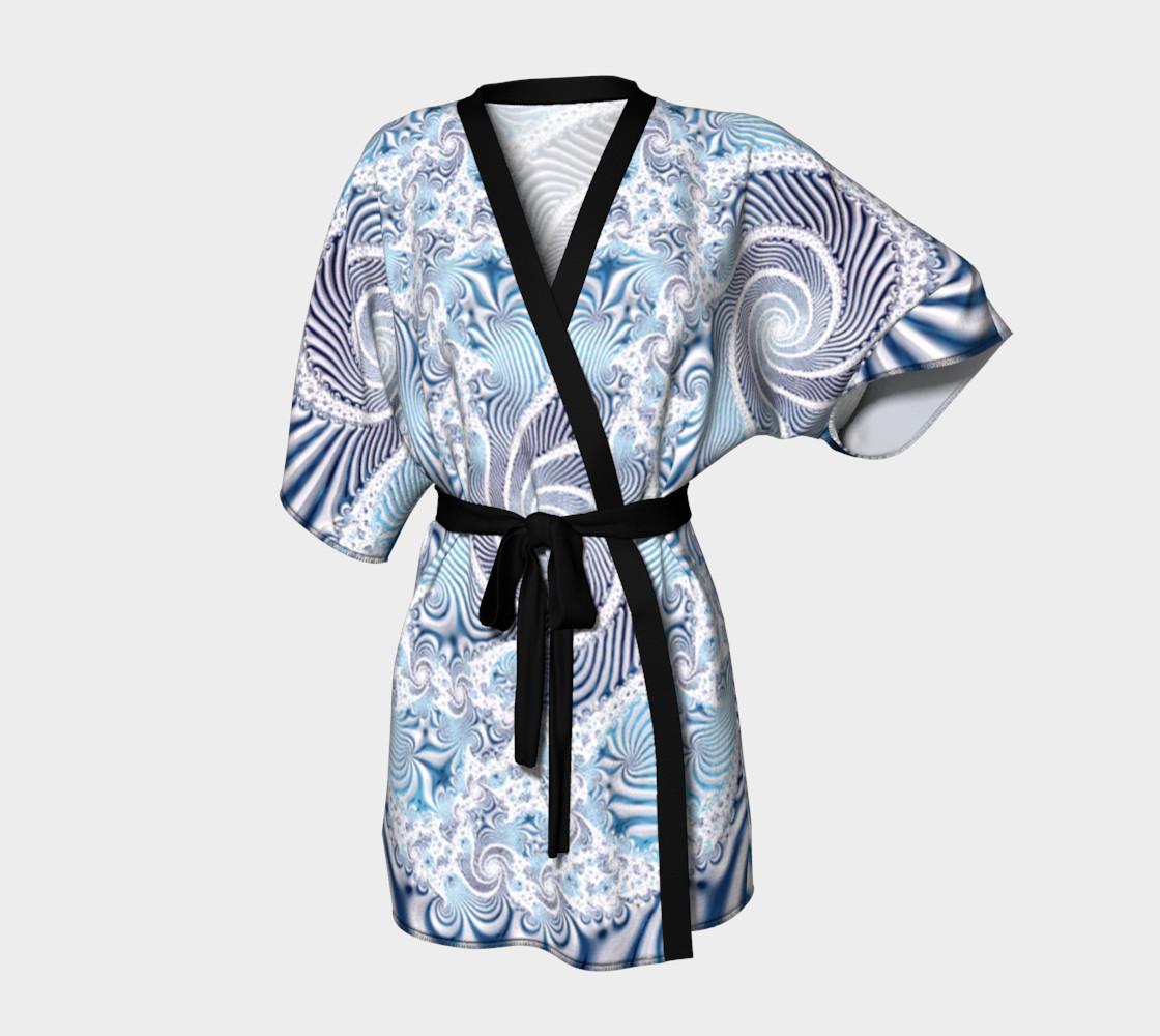 Lace Dreams Kimono Robe preview #1