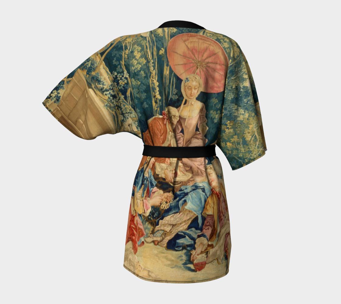 Pastoral Picnic Kimono preview #4