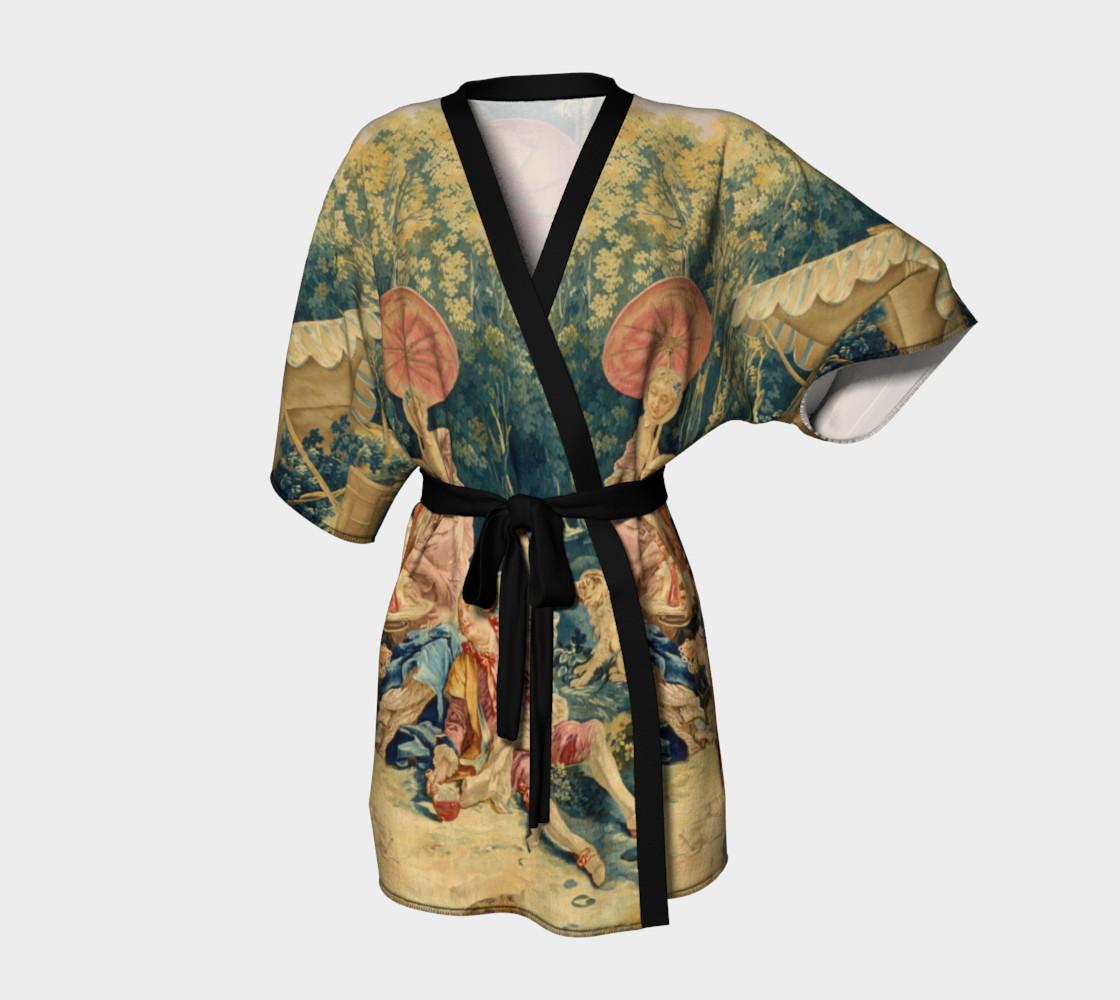 Pastoral Picnic Kimono preview #1