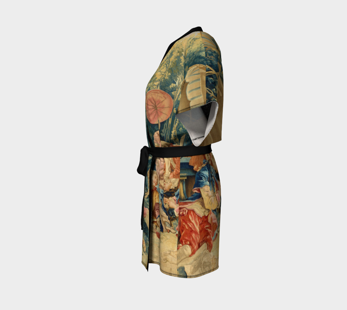 Pastoral Picnic Kimono preview #2