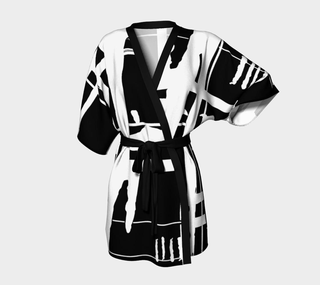 Aperçu de When East Meets West Kimono #1