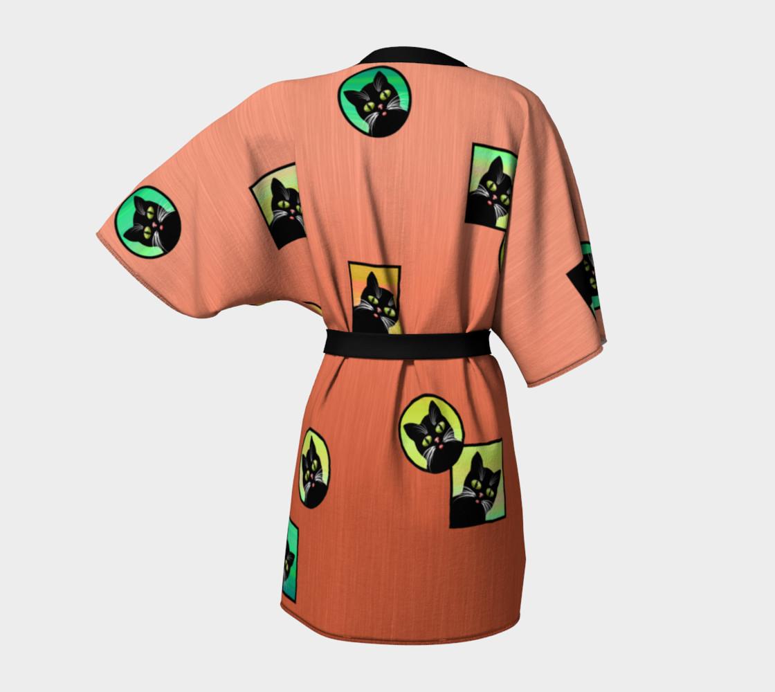 Aperçu de Window Kitties Peach Kimono #4