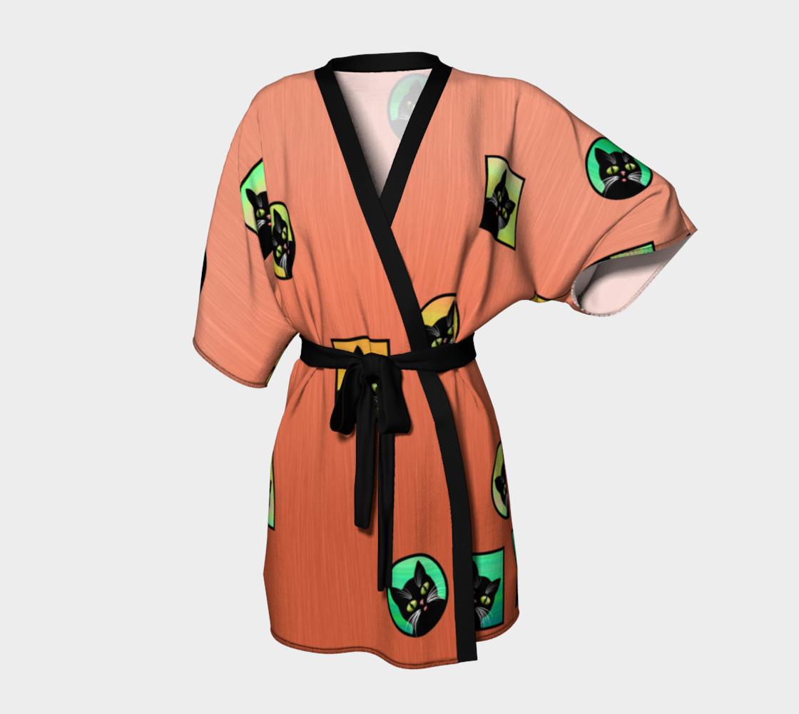 Aperçu de Window Kitties Peach Kimono #1