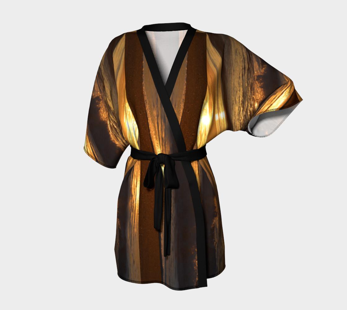 OBX Skies Sand Stripe Robe preview #1