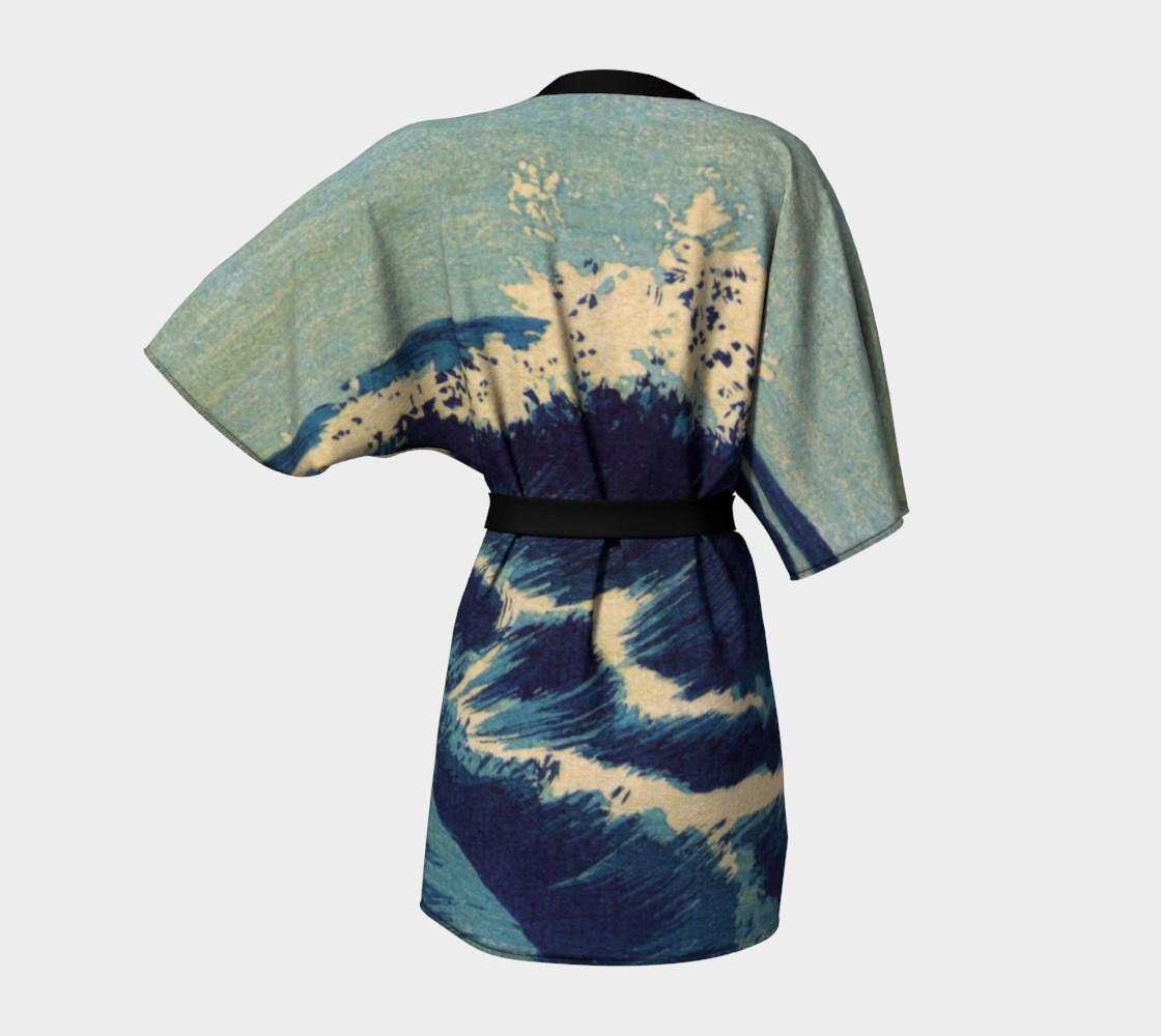 Japanese Print - Wave - C - Hatō zu - Uehara, Konen - Wave C-1 preview #4