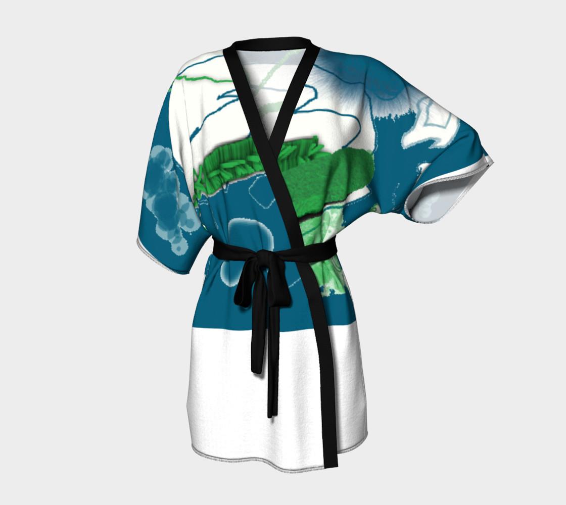 Aperçu de GhostSkateboard Kimono #1