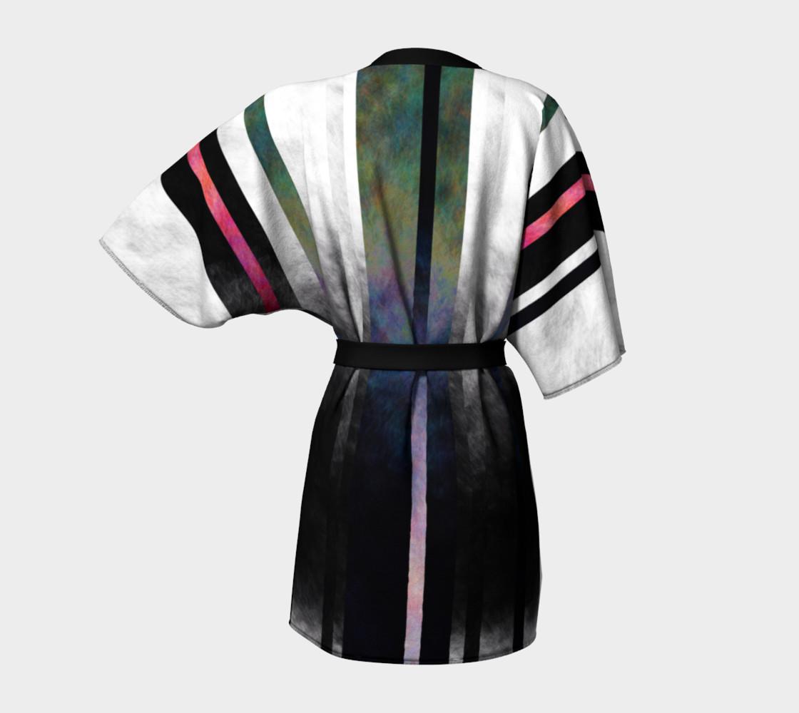 Fade Stripe Kimono 2 preview #4