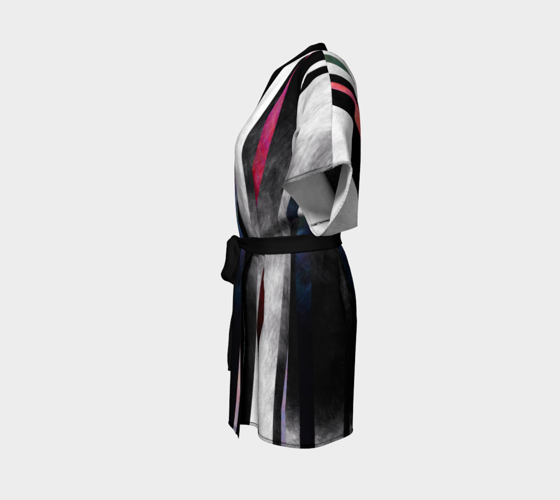 Fade Stripe Kimono 2 preview #2