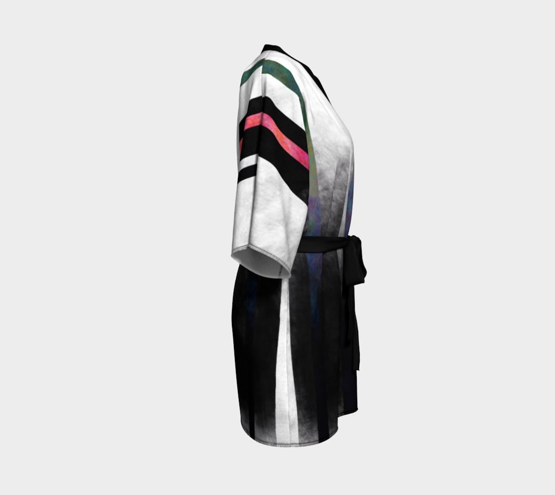 Fade Stripe Kimono 2 preview #3