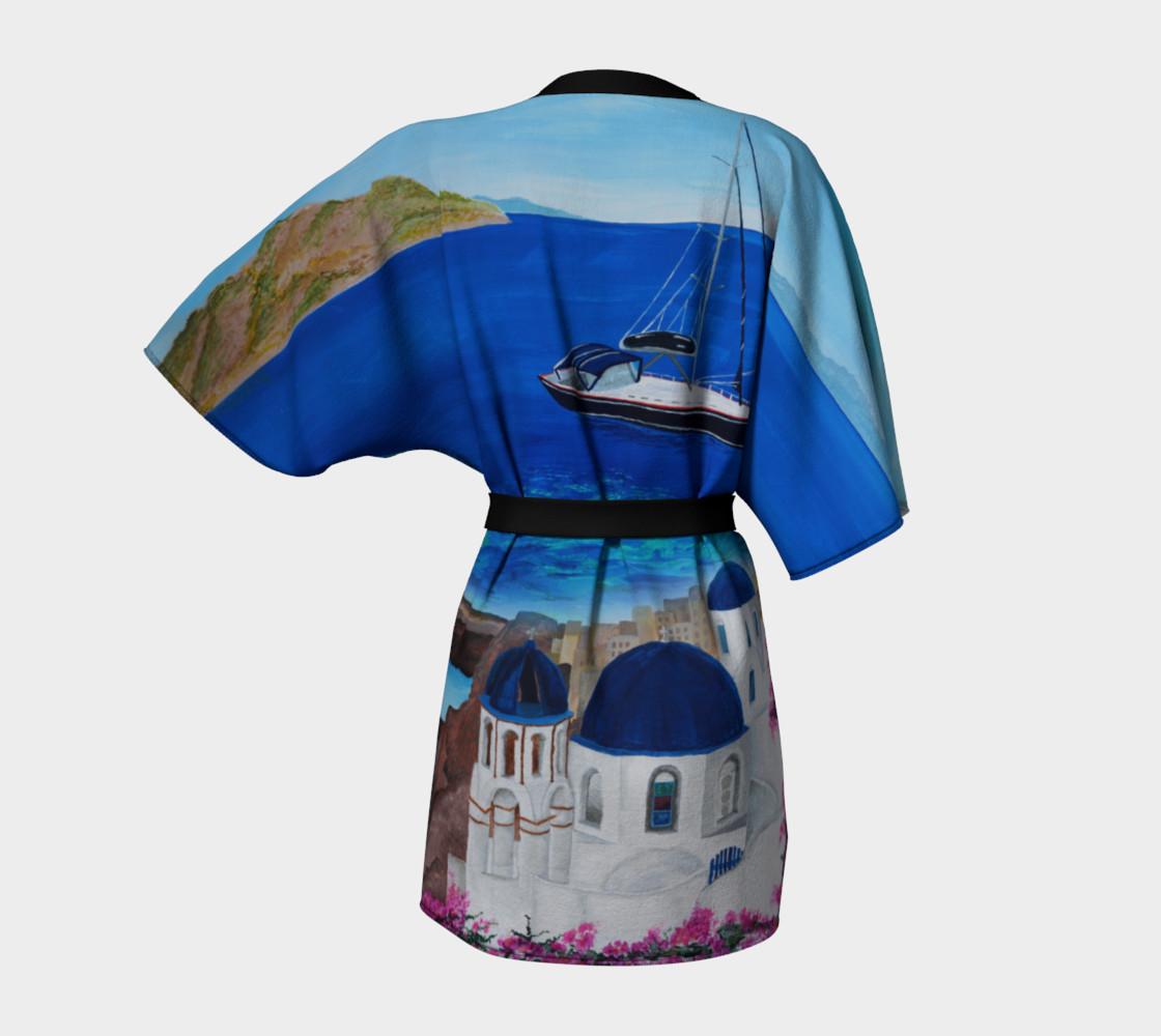 Aperçu de Greece Kimono Robe #4