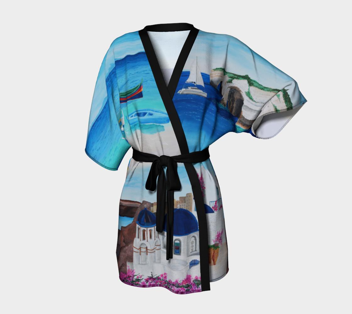 Aperçu de Greece Kimono Robe #1